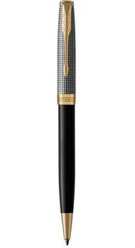 Шариковая ручка Parker SONNET 17 Black Cisele Silver GT BP 87 332