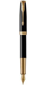 Перьевая ручка Parker SONNET 17 Black Lacquer GT FP F 86 011