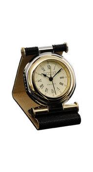 Часы дорожные Dalvey Travel SP в черной коже