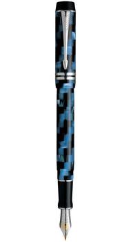 Ручка Parker DUOFOLD Check Blue PT FP F 91 212C