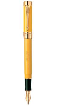 Ручка Parker DUOFOLD Mandarin Yellow GT юбилейная - Limited Edition 97710M
