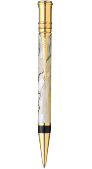 Шариковая ручка Parker Duofold Pearl&Black 91632J