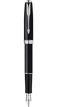Ручка Parker Sonnet 08 Laque Black SP FP F 85 812S