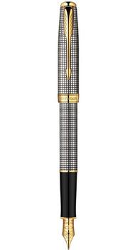 Ручка Parker Sonnet 08 Sterling Silver Cisele FP F 85 312