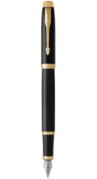 Перьевая ручка Parker IM 17 Black GT FP F 22011