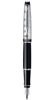 Ручка Waterman EXPERT Deluxe Black CT FP F 10038