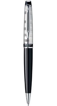 Ручка Waterman EXPERT Deluxe Black CT BP 20038