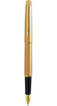 Ручка Waterman HEMISPHERE Stardust Gold GT FP F 12560