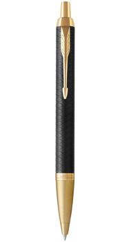 Шариковая ручка Parker IM 17 Premium Black GT BP 24 032